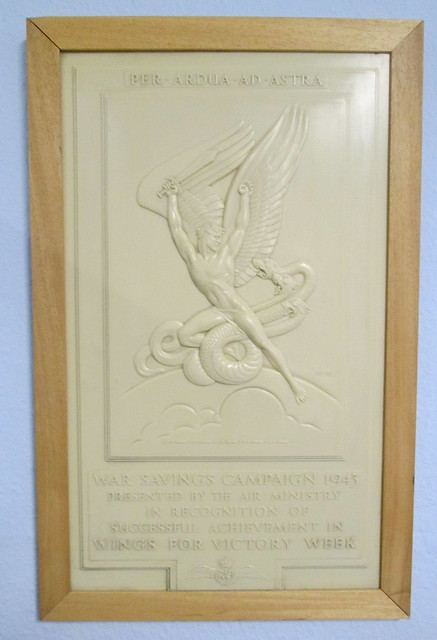 War Savings Campaign Plaque