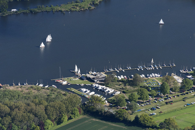 Norfolk Broads Yacht Club aerial