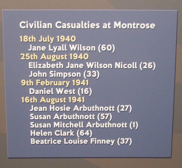 Civilian casualties at Montrose Air Station