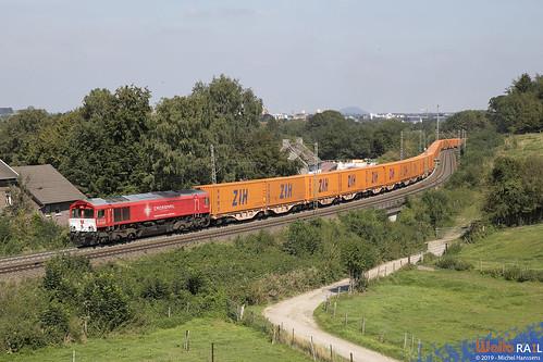 DE 6308 . Crossrail . Z  43436 ( China Express ) Aachen . 30.08.19.