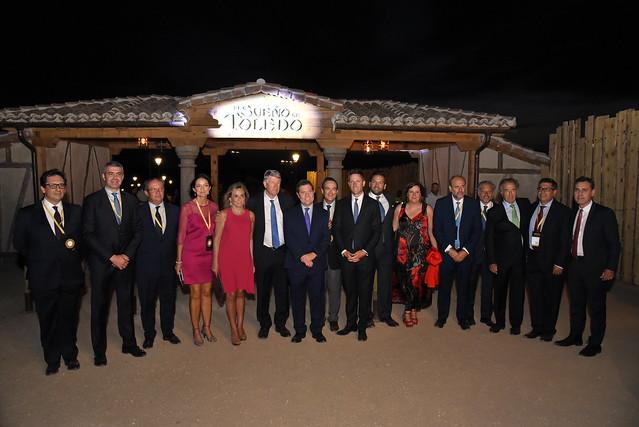 Inauguración del parque temático Puy du Fou España en Toledo