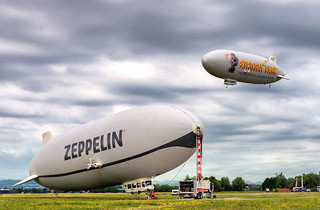 Zeppelins in Friedrichhafen