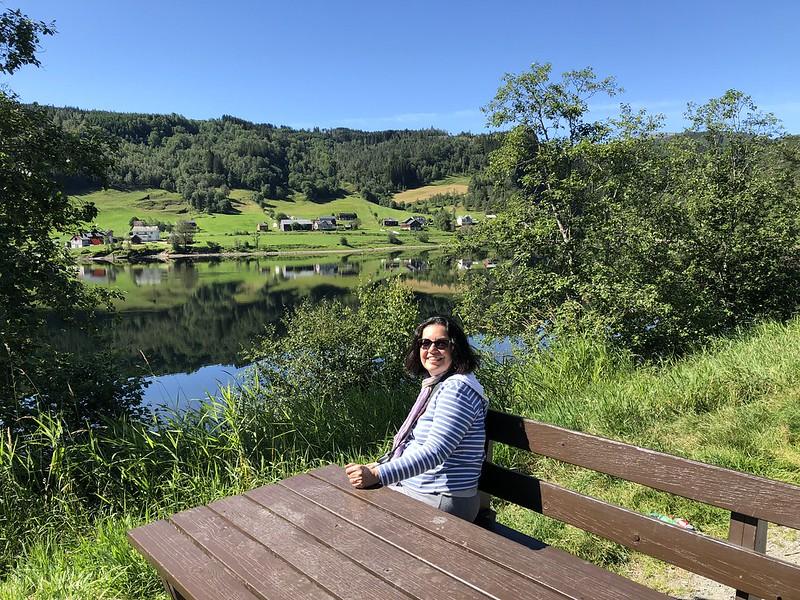 Paesaggio in Norvegia