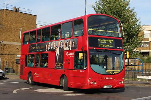 Arriva London DW113 on Route 197, Peckham