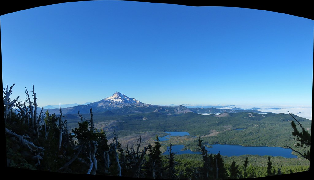 Mt. Jefferson with Monon, Olallie and Timber Lakes