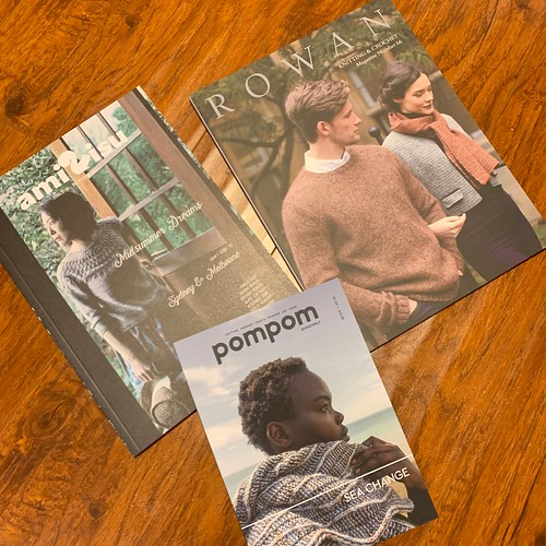 Pom Pom Quarterly Issue 30, Amirisu Issue 18 and Rowan Magazine 66 have landed in the shop!