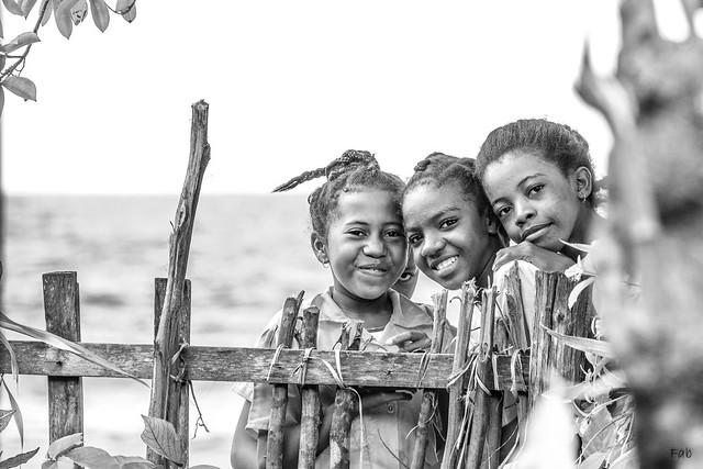 A l'école en bord de mer - Sainte-Marie Madagascar