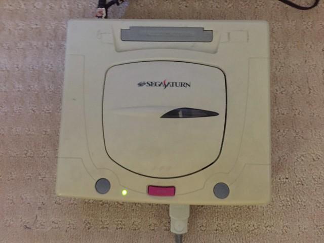 Working Sega Saturn