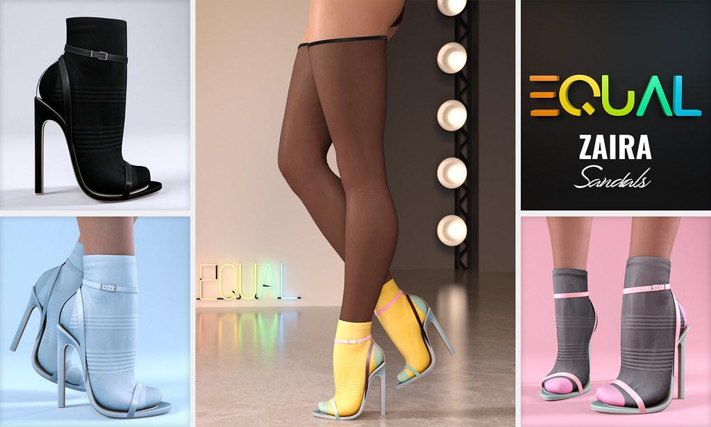 EQUAL – Zaira Sandals