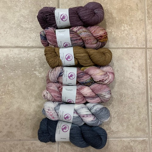 Ancient Arts Yarns Passion 8 has arrived!