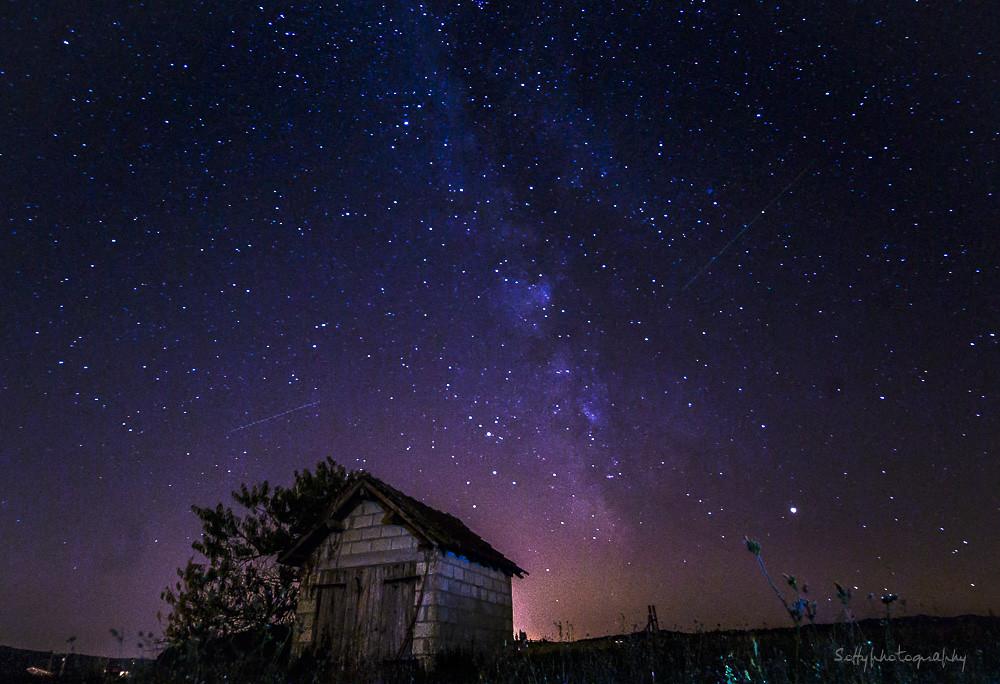 My firth Milky Way - Ma première voie lactée