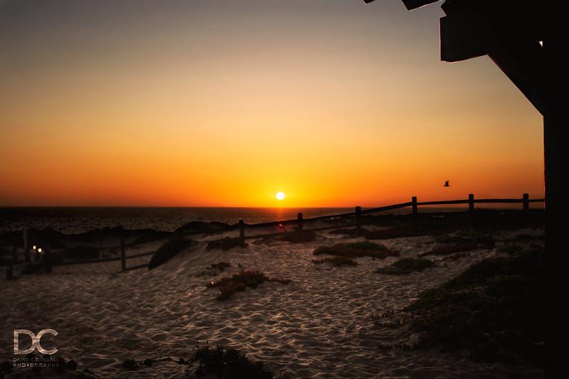 A Sunset In Marina, CA