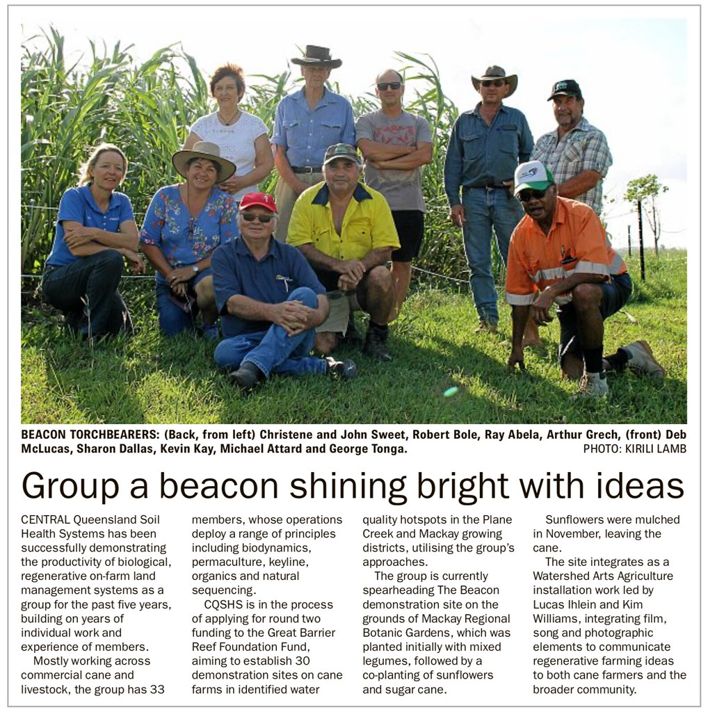 news article about the beacon in the rural weekly