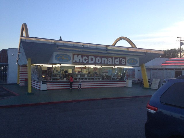 Oldest Operating McDonald's, Downey, California