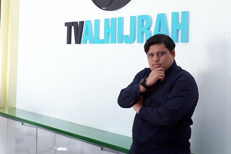 Encik Namanzee Harris Ketua Pegawai Eksekutif TV AlHijrah - Ulang tahun kesembilan TVAH