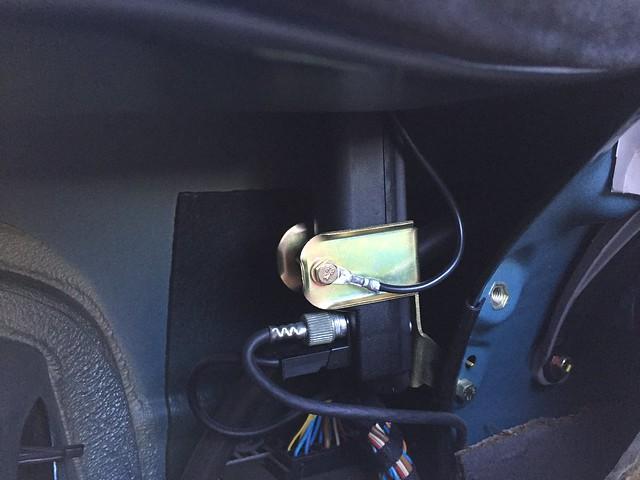 Antenna base replaced.
