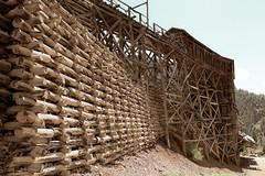 Old Mining Trestle - Creede, Colorado