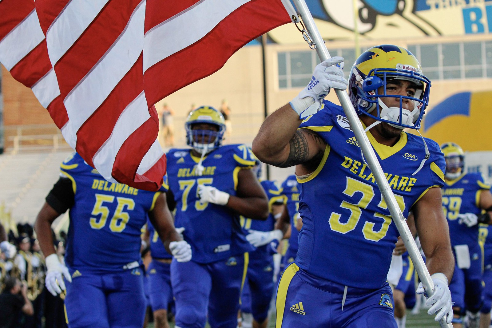 Saturday Night Lights: Blue Hens take home the win in 3OT battle against Rhode Island