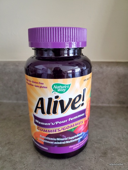 Nature's Way  Alive!  Women's Multivitamin/Mineral Supplement gummies