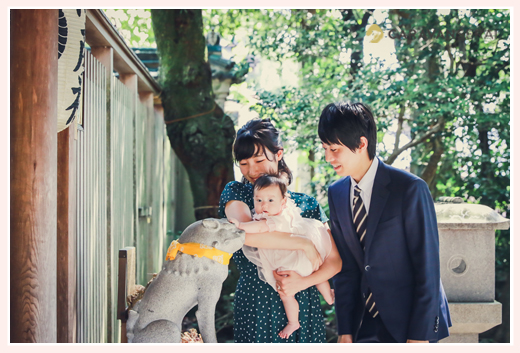 狛犬 深川神社内になる陶彦神社は智恵守りの神さま 狛犬 愛知県瀬戸市
