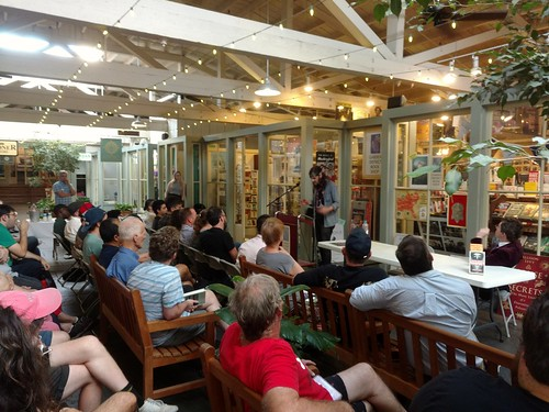 Tim Faust at Garden District Books