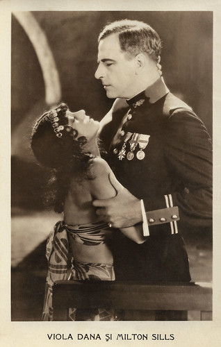 Viola Dana and Milton Sills in The Silent Lover (1926)