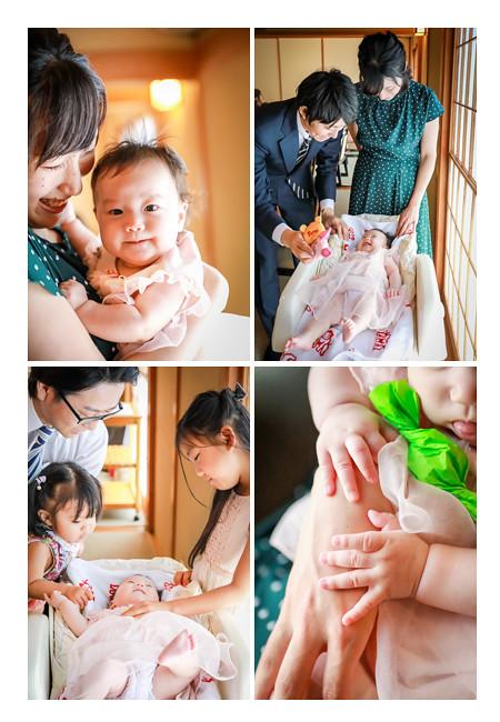 100日祝い 家族・親戚中に祝福される赤ちゃん
