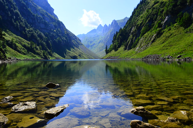 Fälensee im Alpsteinmassiv