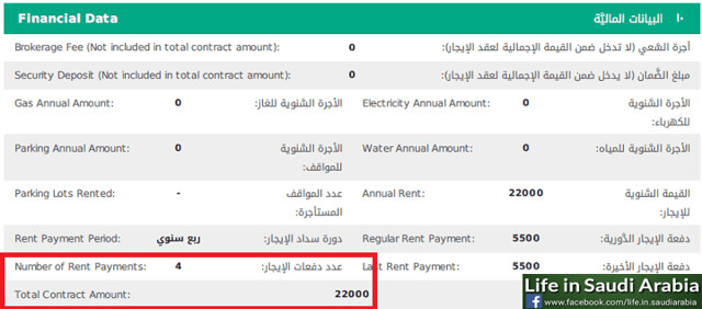 4674 Procedure to register House Rent Contract (Ijar) electronically in Saudi Arabia 04