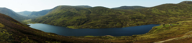 Loch Callater in Panoramic