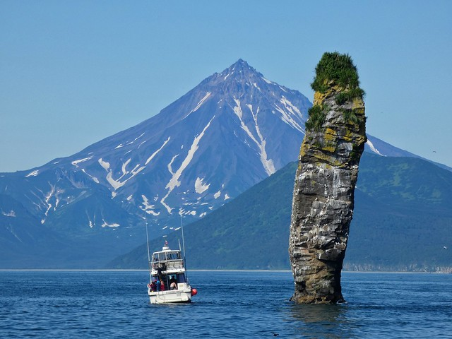 Volcán Vilyunchinsky en Kamchatka (Rusia)