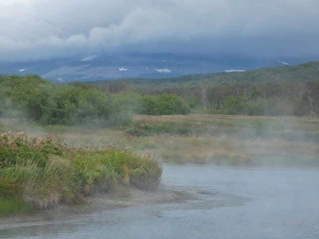 Aguas termales de Khodutka (Kamchatka, Rusia)