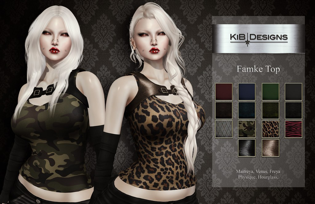 KiB Designs – Famke Top @Darkness Event