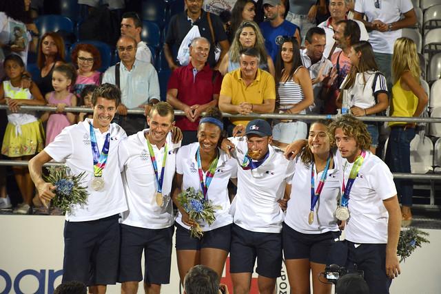 Jeux méditerranéens de plage Patras 2019 - Les médailles du beach-volley