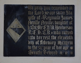 heraldic brass, 1913