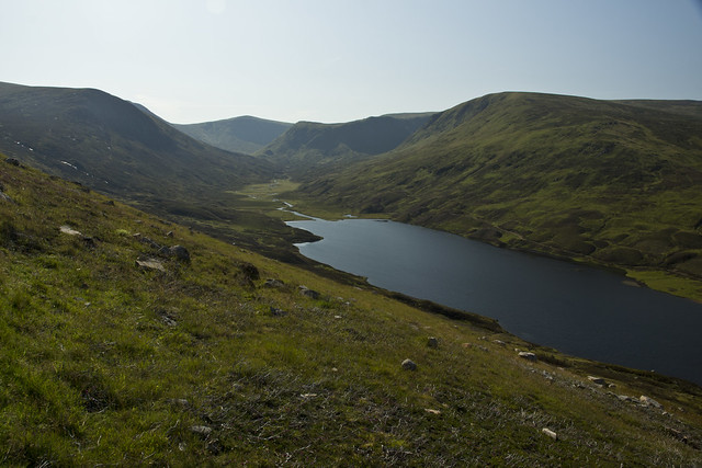 Loch Callater and Tolmount