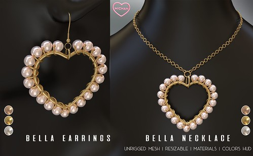Bella Earrings and Necklace @ The Saturday Sale