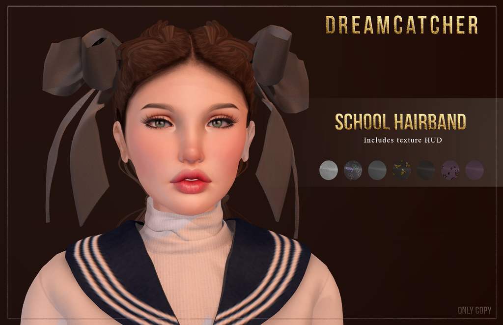+Dreamcatcher+ School Hairband @ WCF – Back To School