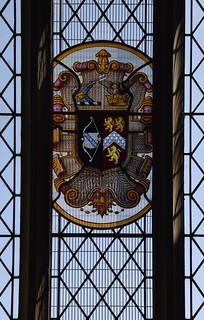 heraldic glass (early 20th Century)