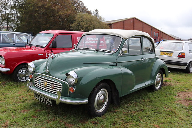 Morris Minor 1000 Convertible VJU872H