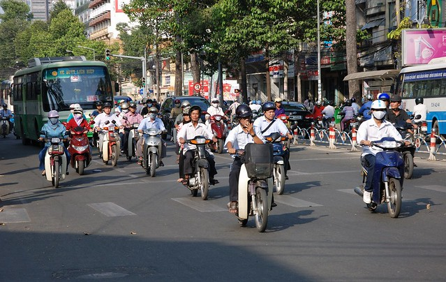 Rush Hour in Ho Chi Minh city