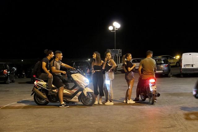 Boys, girls and bikes