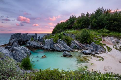 bermuda sunset beach cove horseshoebay pinksand