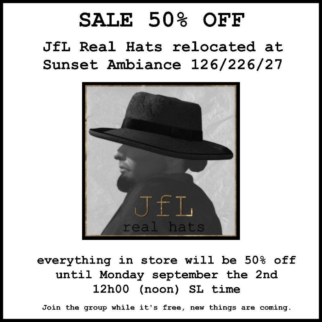 JfL 50% Sale