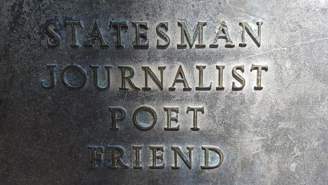 Statesman Journalist Poet Friend
