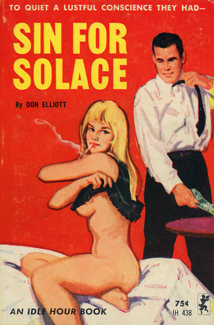 Idle Hour Books 438 - Don Elliott - Sin for Solace