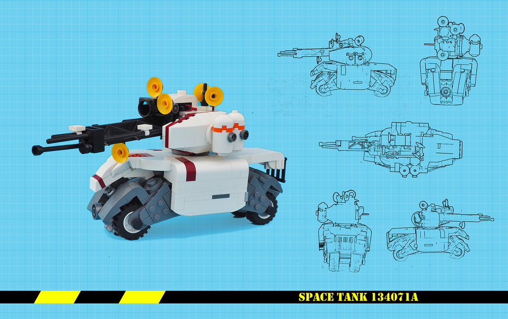 Space Tank Blueprint
