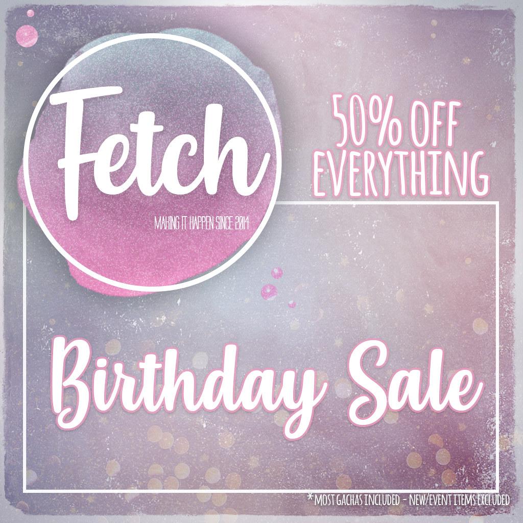 [Fetch] Birthday Sale! - TeleportHub.com Live!
