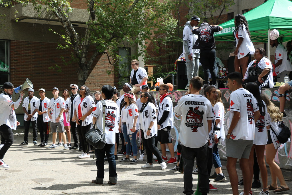 First-year move-in day at York U