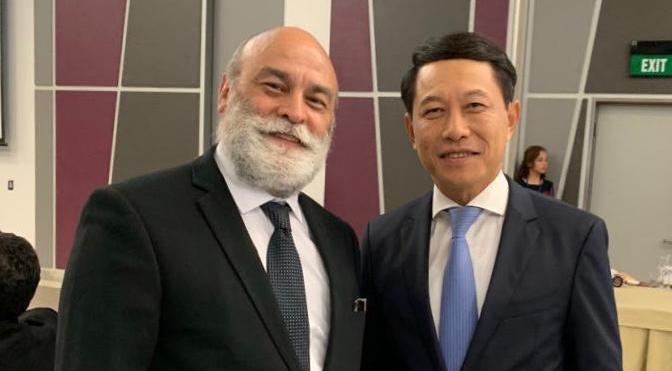 Viceministro para Asia, Medio Oriente y Oceanía sostiene importantes reuniones en Timor Oriental
